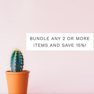 + bundle and save 15% +